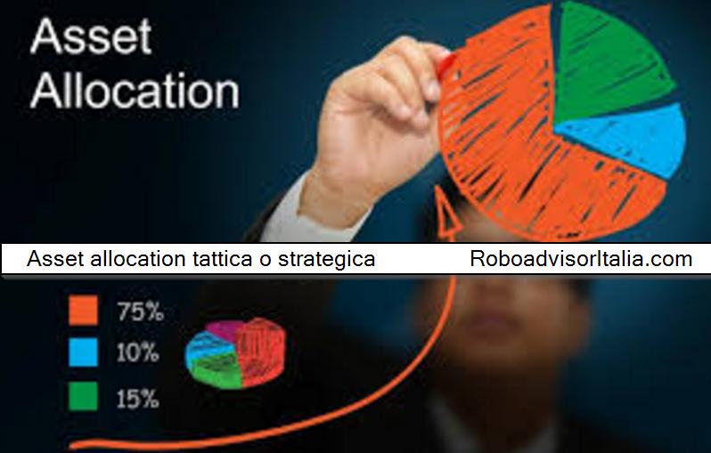 Asset allocation tattica o strategica