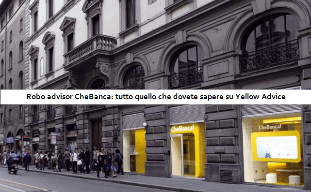 Robo advisor CheBanca: conoscere Yellow Advice