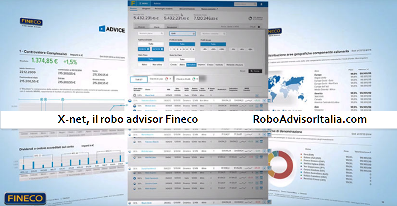 X-net Robo advisor Fineco