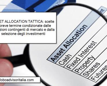 Asset allocation tattica