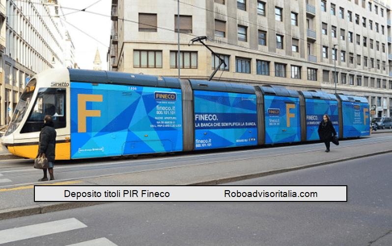 Deposito titoli PIR Fineco