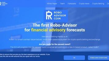 RoboAdvisorCoin collega robo advisor e criptovaluta