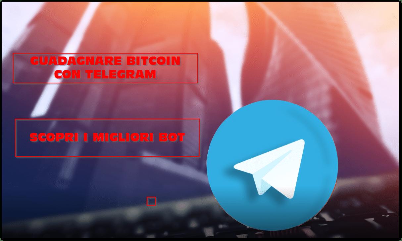 Guadagnare Bitcoin con Telegram