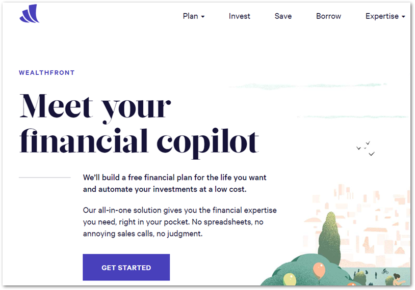 Wealthfront_ Financial Planning & Robo-Investing for Millennials